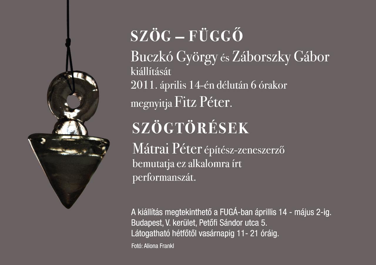Buczkó-Záborszky Meghívó