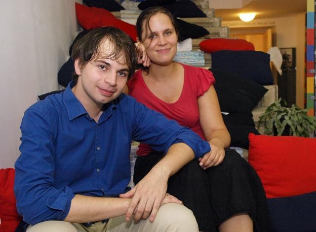 Várföldi Anna és Borbély László (fotó: Felvégi Andrea)