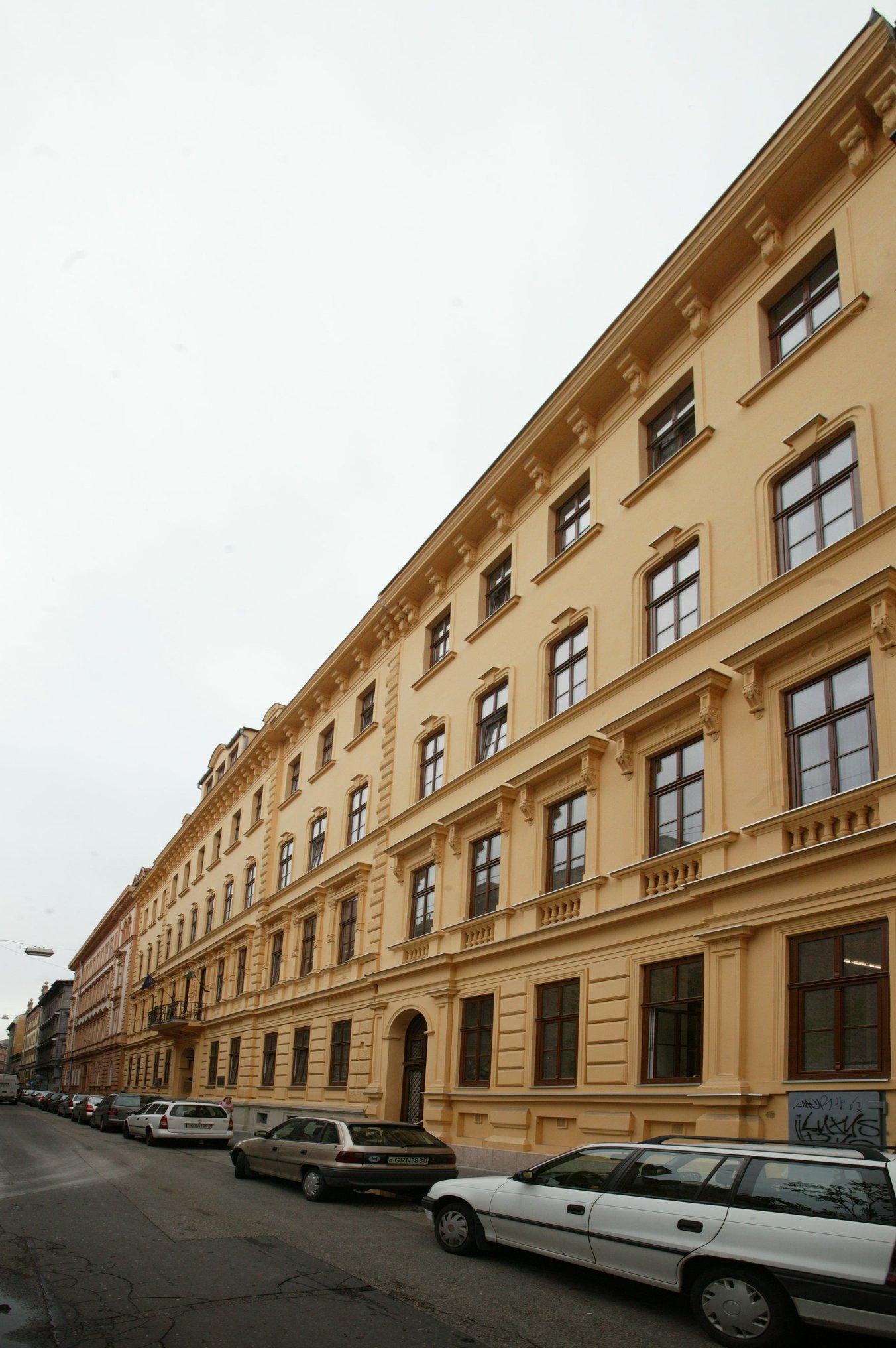 Budapest, palotanegyed a VIII. kerületben.