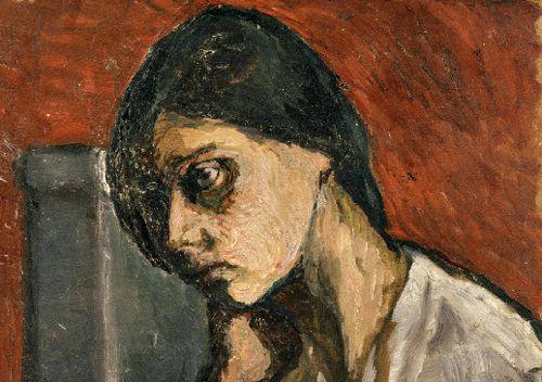 I.03 Pogány Margit önarcképe, a Philadelphia Museum of Art gyu0171jteményében