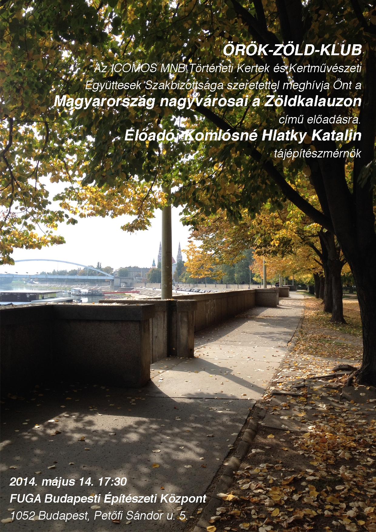 Orokzold klub_meghivo_Hlatky Katalin