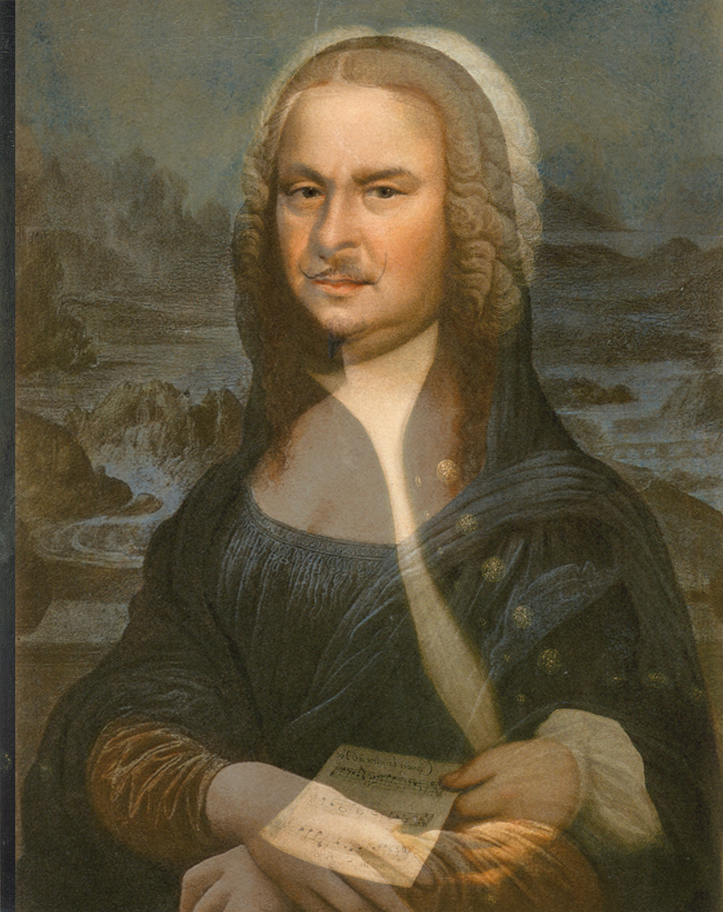 Johann Sebastian Bach; painting by Elias Gottlob Haussmann, 1746