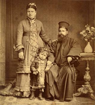 4-Szathmári Pap Károly _Ortodox popa családja 1873 (Molnár Attila gyűjteménye) web