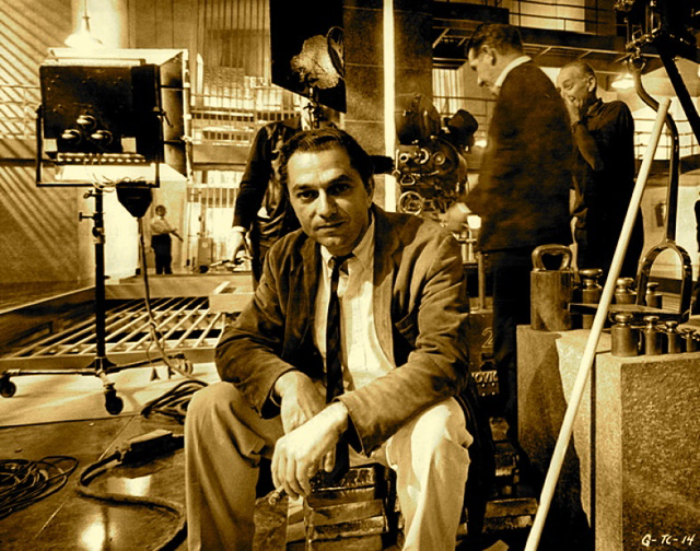 ken-adam-on-the-fort-knox-set-at-pinewood-studios-for-goldfinger-1964-david-giammarco (1)