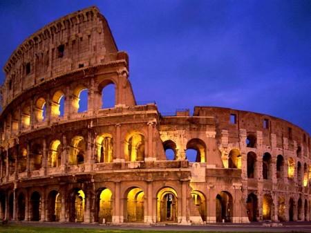 II-06 Roma, Colosseum -a