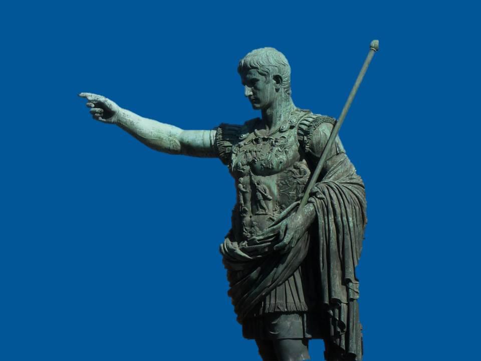 bb róma Augustus plakátra