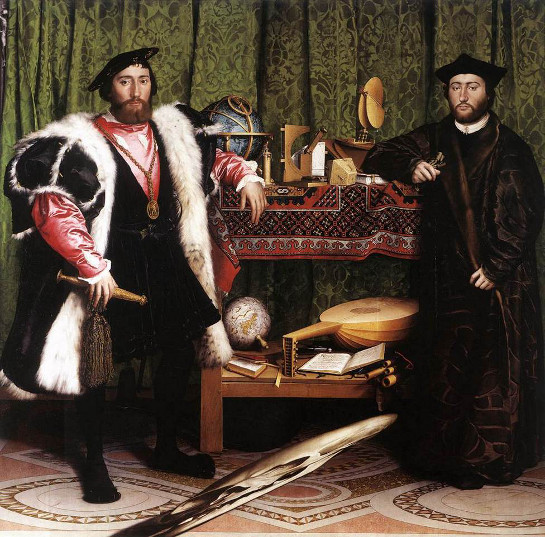 holbein-les-ambassadeurs-1533-hsp-207-x-2095cm-londres-the-national-gallery