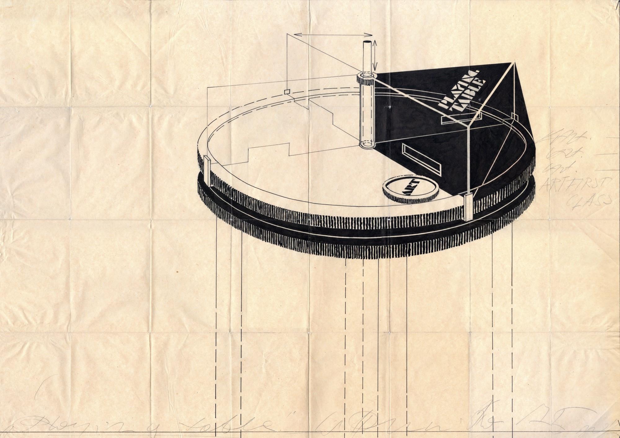 Wincenty_Dunikowski_Duniko_Art_Playing_Table_1975